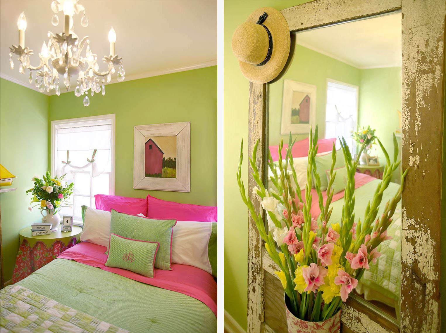 Audrey-Bedroom-with-Gladiolas